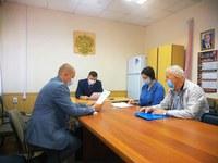 Глава района провел прием граждан по личным вопросам