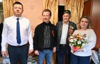 Ветеранов поздравляют
