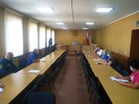 Заседание оперативного штаба по противодействию распространения коронавируса