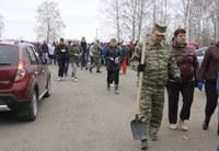 Жители Красноармейского района стали участниками Всероссийского субботника