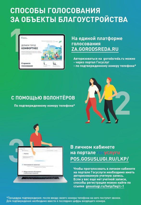 Инструкция по способам голосования