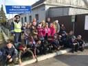 Сотрудники Госавтоинспекции провели экскурсию для школьников.